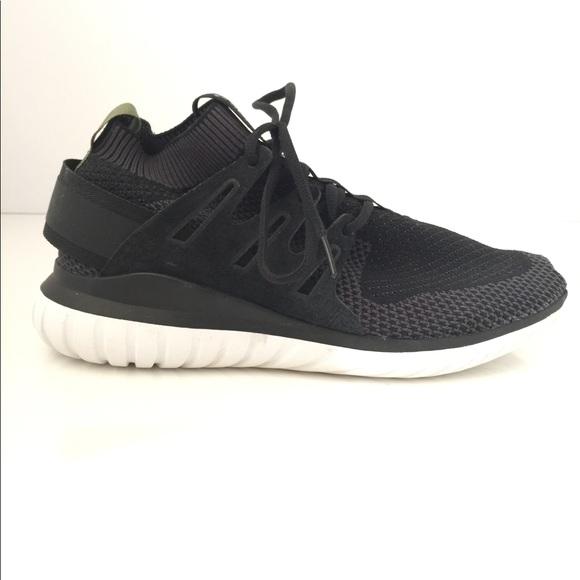 sports shoes 8a2ac c45d6 Adidas Tubular Nova Primeknit Triple Black